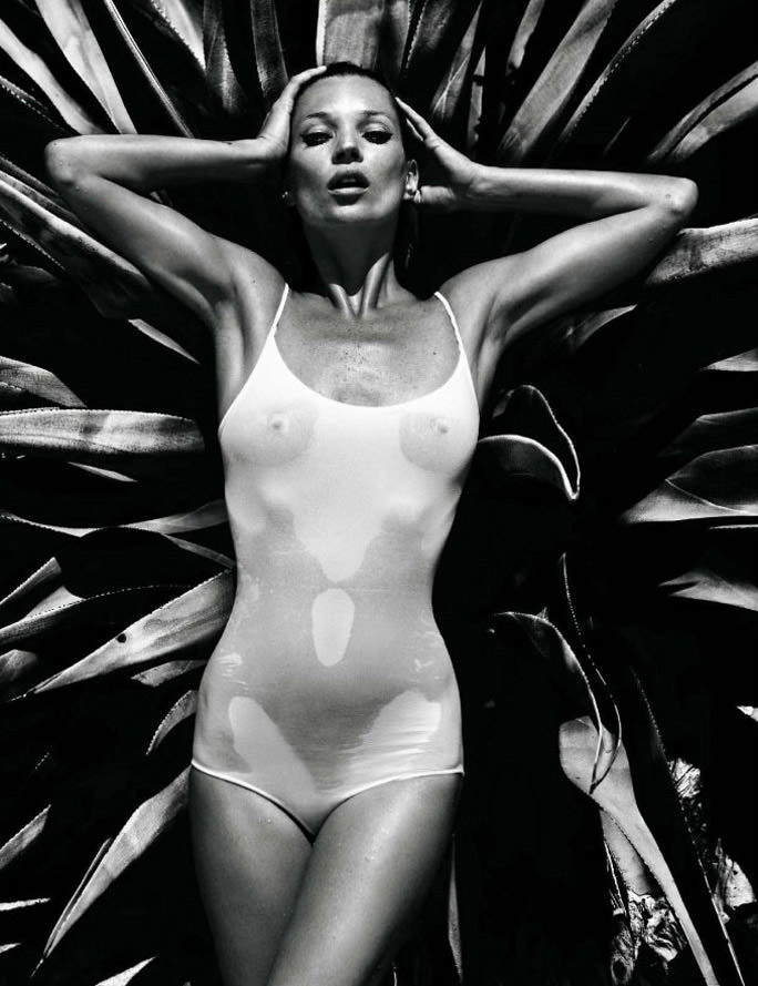 """Kate Moss photographed by Mario Sorrenti in """"Forever Kate"""" for Vogue Hommes International, Spring 2010 4"""