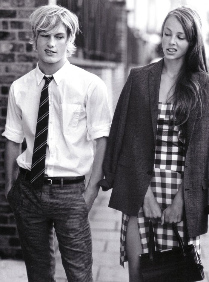 """""""London In Love"""" photographed by Bruce Weber for Vogue Italia, March 2010 3"""