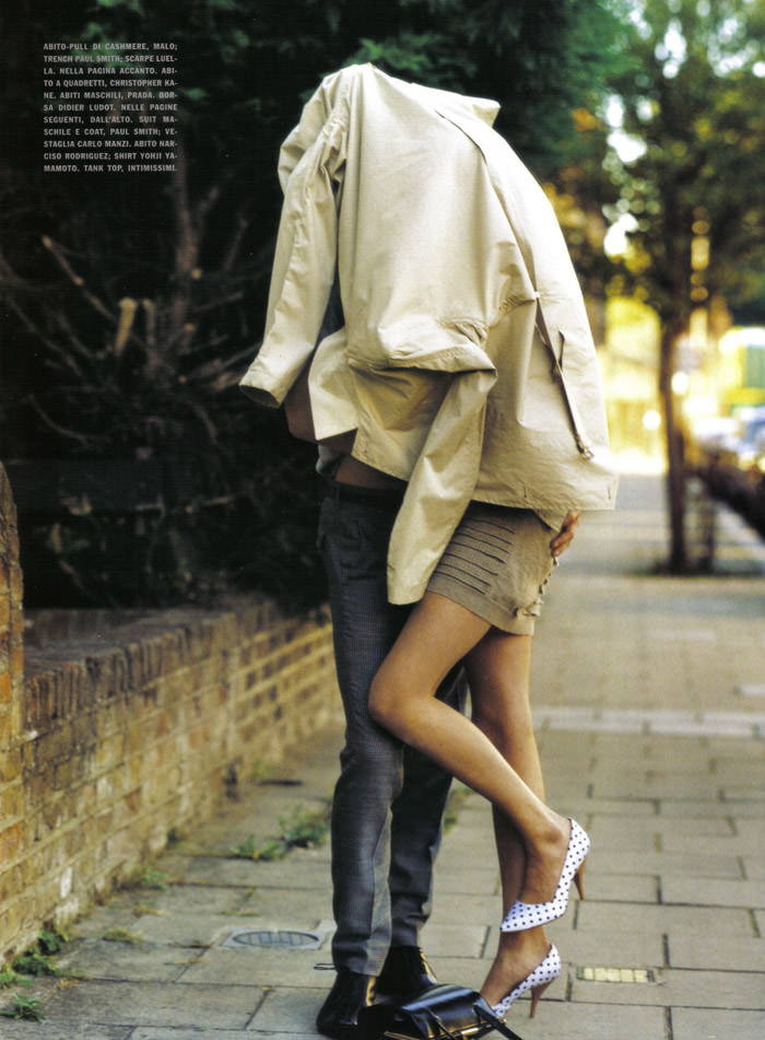 """""""London In Love"""" photographed by Bruce Weber for Vogue Italia, March 2010 4"""
