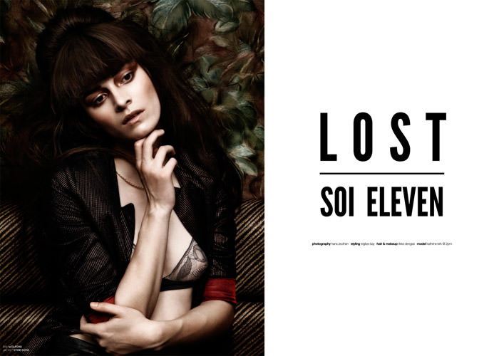 "Kathrine Kirk photographed by Hans Zeuthen in ""Lost Soi Seven"" for The Ones 2 Watch 1"