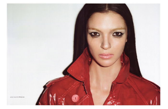 """Mariacarla Boscono photographed by Terry Richardson in """"Top Gear"""" for Muse, Spring 2010 8"""