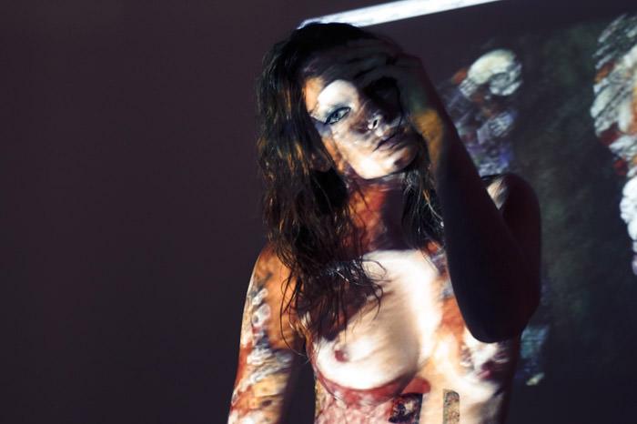 "Enikő Mihalik photographed by Derek Kettela in ""Ghosts of Gustav Klimt"" for 25 Magazine, Spring 2010 6"
