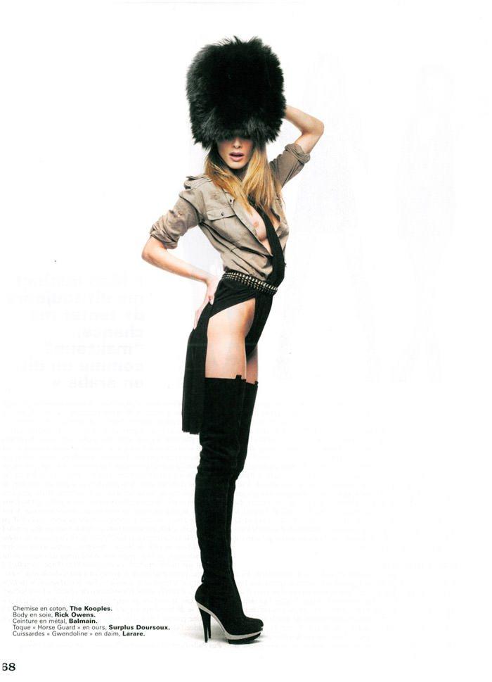 Elisa Sednaoui photographed by Benoit Peverelli for Next Liberation, April 2010 5