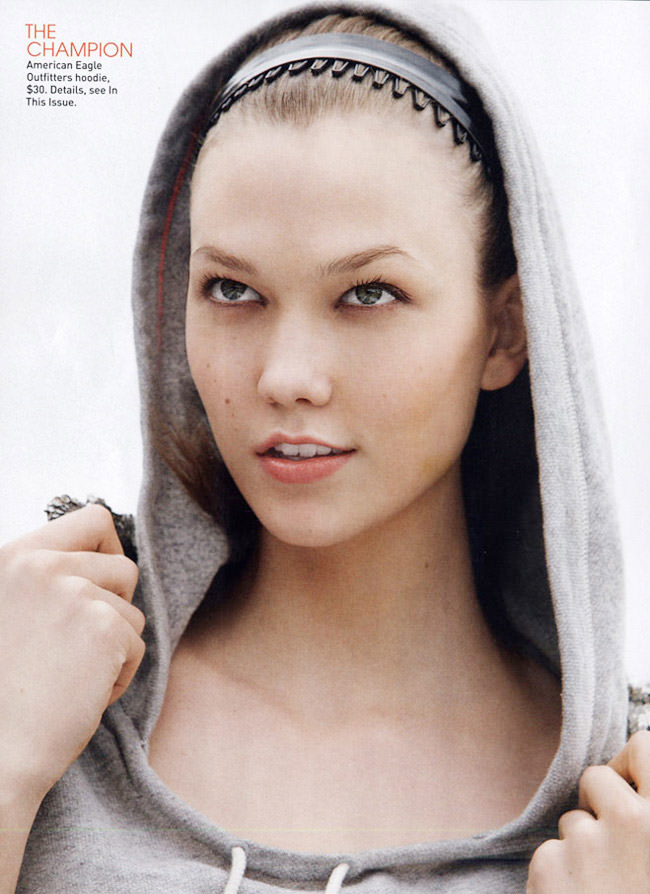 "Karlie Kloss photographed by Patrick Demarchelier in ""The M.V.P."" for Teen Vogue, May 2010 4"
