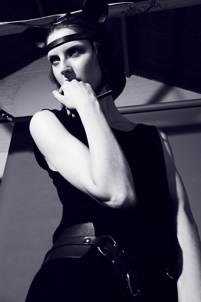 "Rebecca Chandler photographed by Robert Harper in ""Tie Me Up, Tie Me Down"" for ThePop.com 3"