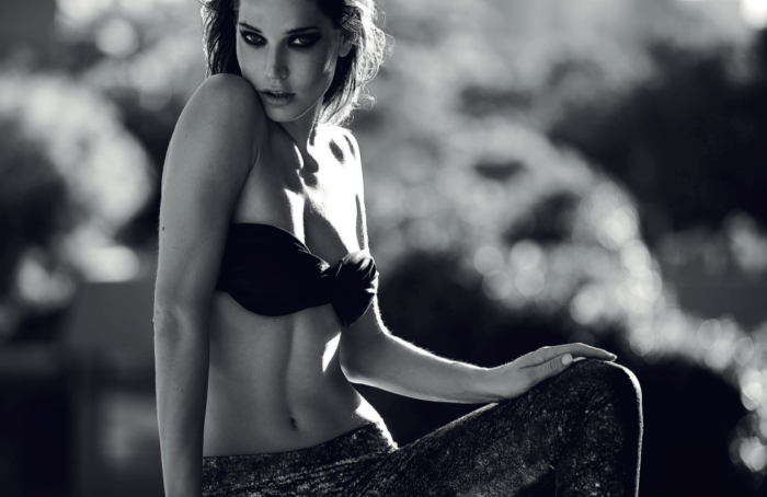 """Jorgelina Airaldi photographed by Nacho Ricci in """"There's Something About Jorgelina, Chapter II"""" for SOKOzine #4 6"""