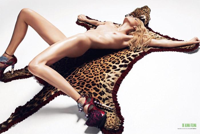 "Masha Novoselova photographed by Txema Yeste in ""Go Wild"" for V Magazine Spain, April 2010 2"