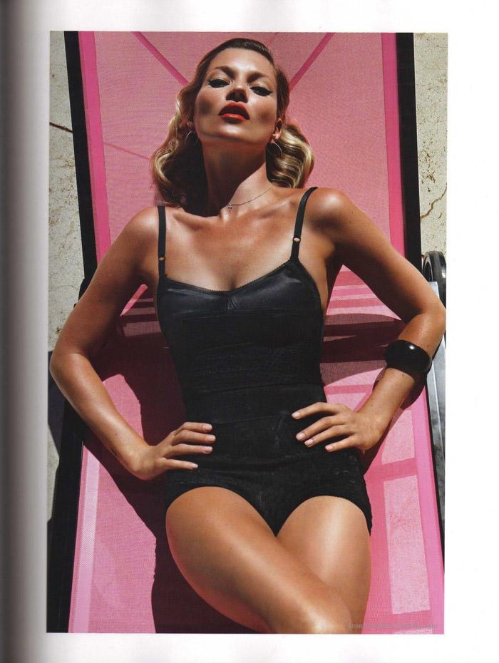 """Kate Moss photographed by Mario Sorrenti in """"Et Dieu Créa Le Soleil"""" for Vogue Paris, June / July 2010 4"""