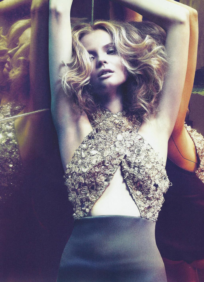"Magdalena Frackowiak photographed by Chad Pitman in ""Frisson"" for Numéro #114, June / July 2010 5"