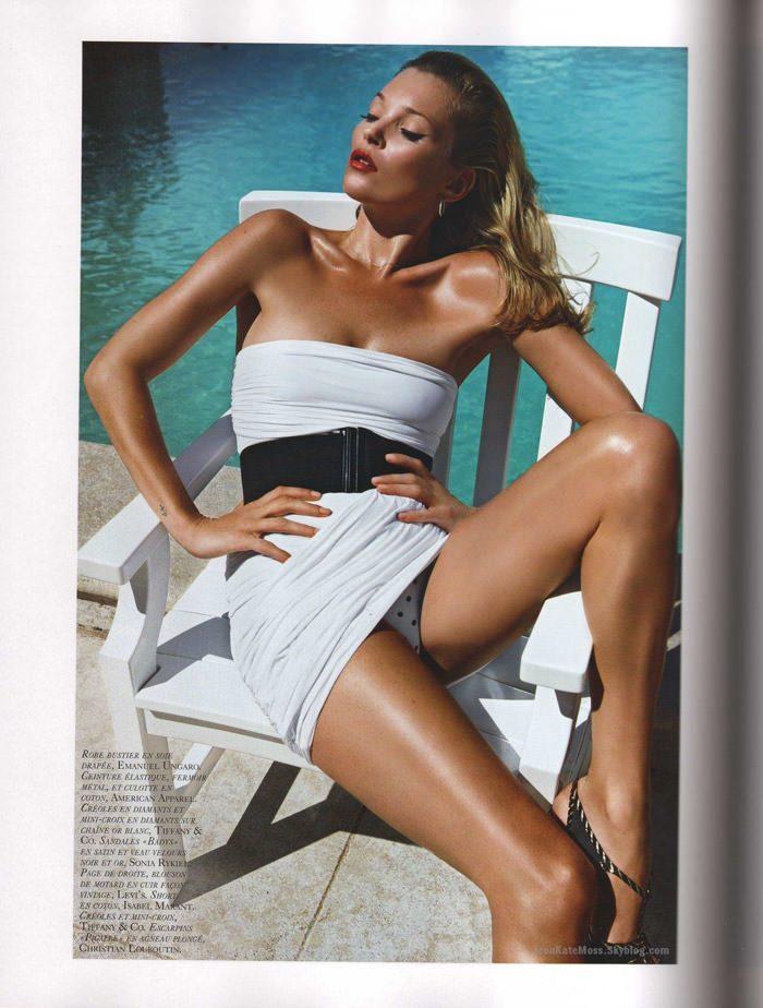 """Kate Moss photographed by Mario Sorrenti in """"Et Dieu Créa Le Soleil"""" for Vogue Paris, June / July 2010 5"""