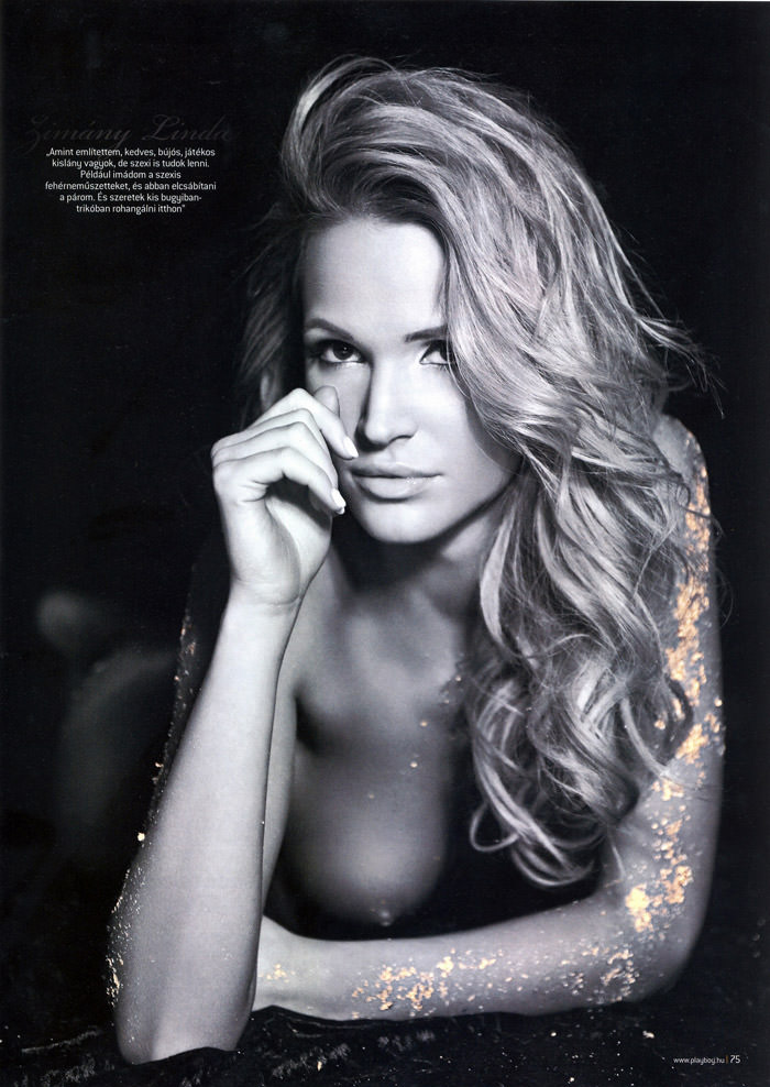 Linda Zimány in Playboy Hungary, May 2010 7