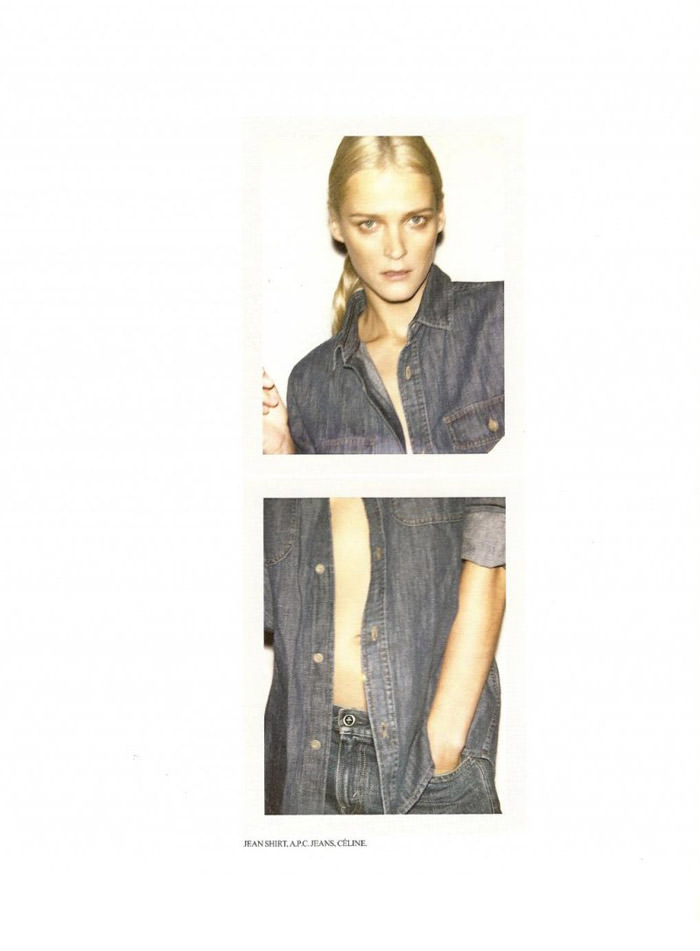 Carmen Kass photographed by Ezra Petronio for Self Service, Spring 2010 13