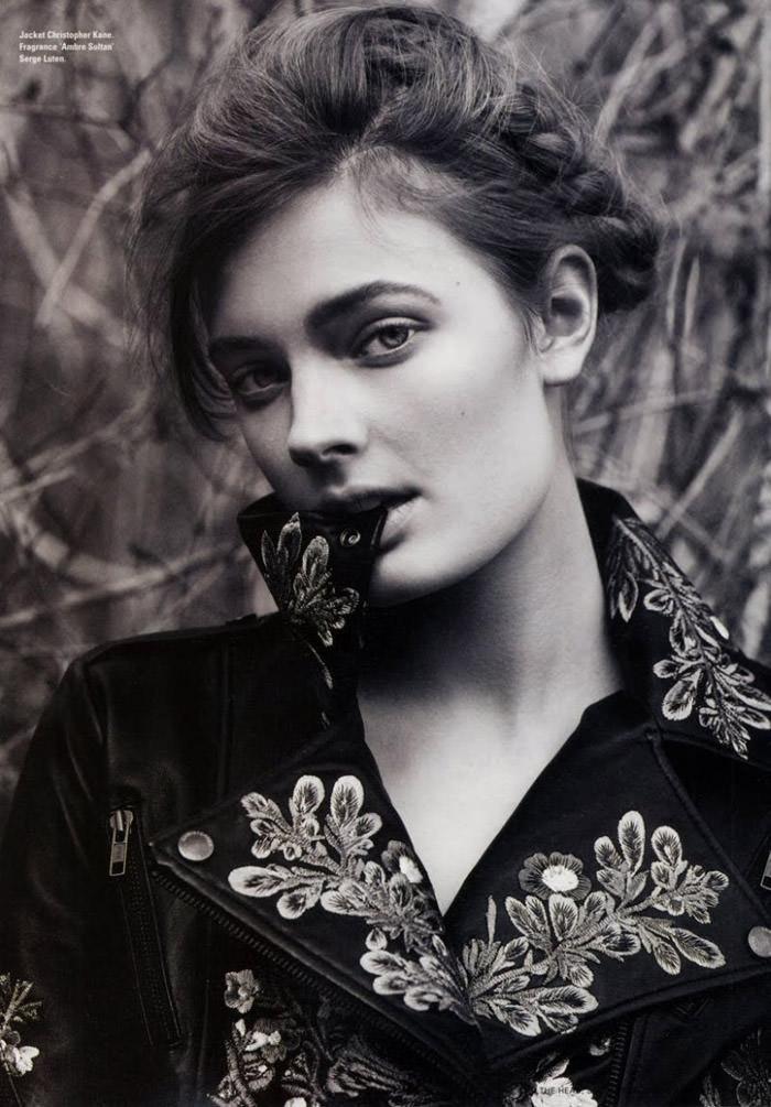 Constance Jablonski photographed by Cédric Buchet for i-D Magazine, Summer 2010 1