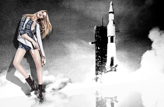 Hailey Clauson photographed by David Roemer for Jag Jeans, 2010 9