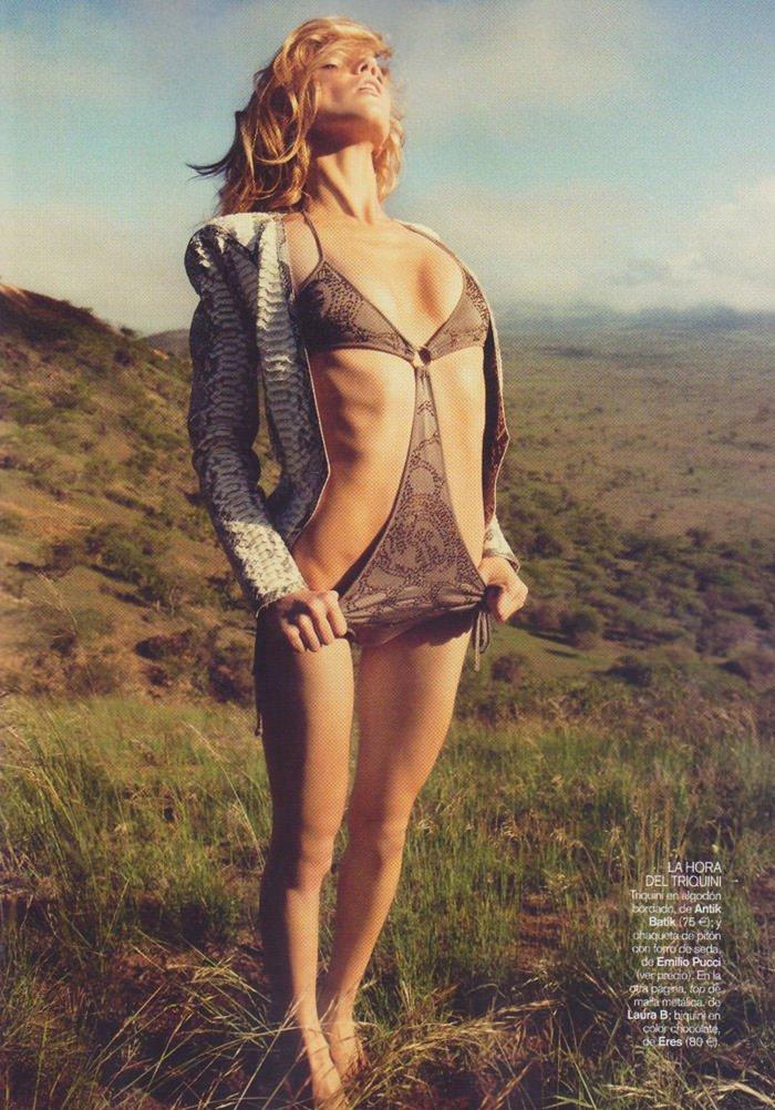 Masha Novoselova photographed by James Macari for Vogue España, June 2010 11