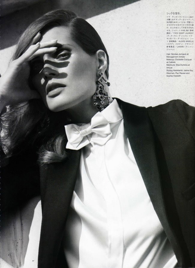 Malgosia Bela photographed by Cedric Buchet for Vogue Nippon, July 2010 11