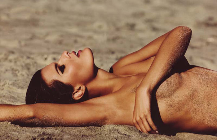 """Isabeli Fontana photographed by Terry Tsiolis in """"Wicked Isabeli"""" for Muse, Summer 2010 9"""