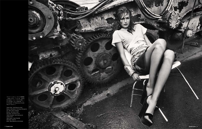 """Edita Vilkeviciute photographed by Sebastian Kim in """"Heat It Up!"""" for Numéro Tokyo, July / August 2010 12"""