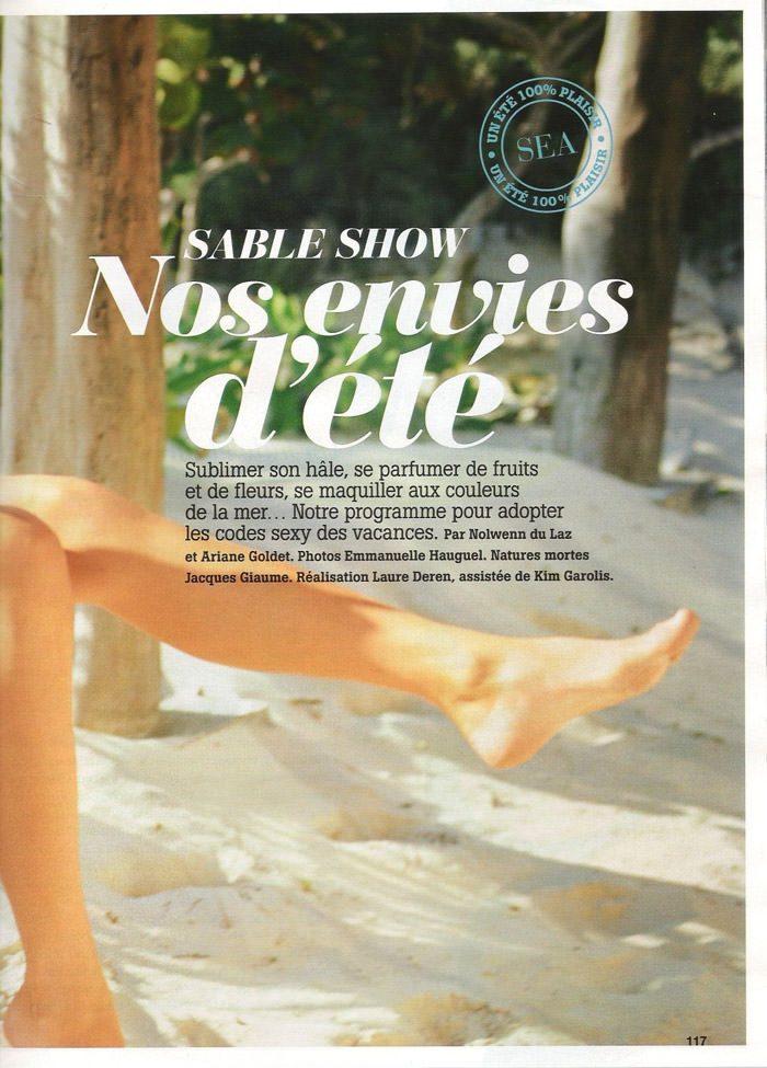 """Cintia Dicker photographed by Emmanuelle Hauguel in """"Nos Envies D'été"""" for Marie Claire France, August 2010 3"""