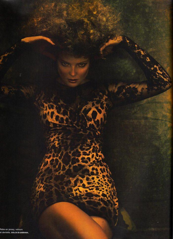 "Enikő Mihalik photographed by Miguel Reveriego in ""Sortilége"" for Numéro #115 3"