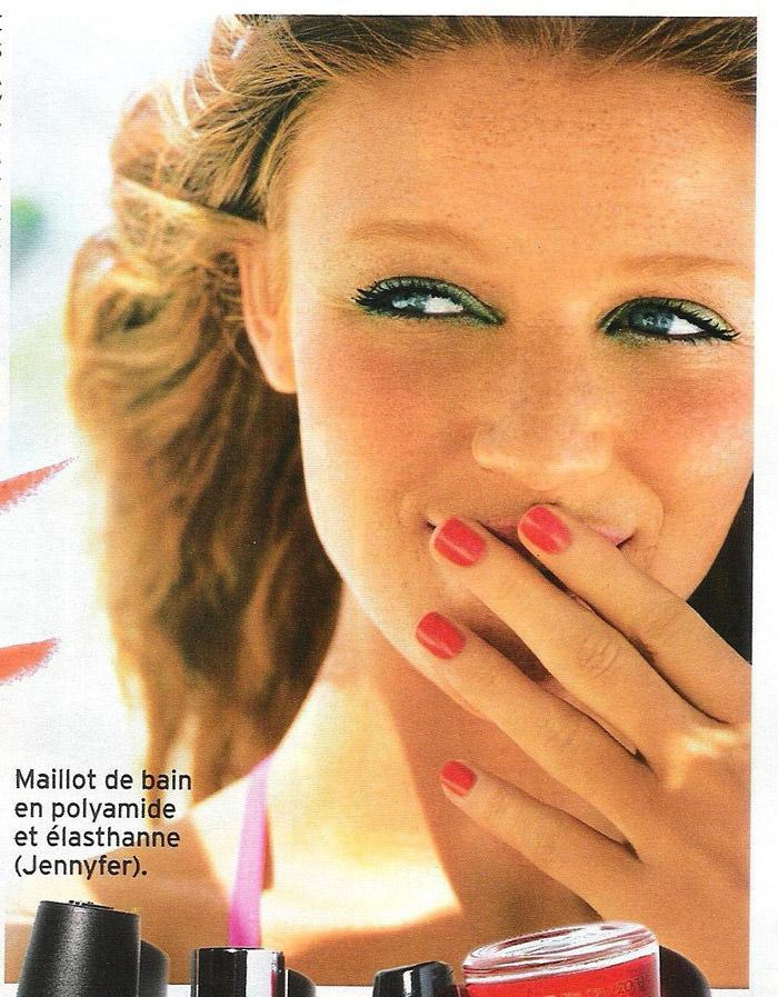 """Cintia Dicker photographed by Emmanuelle Hauguel in """"Nos Envies D'été"""" for Marie Claire France, August 2010 8"""