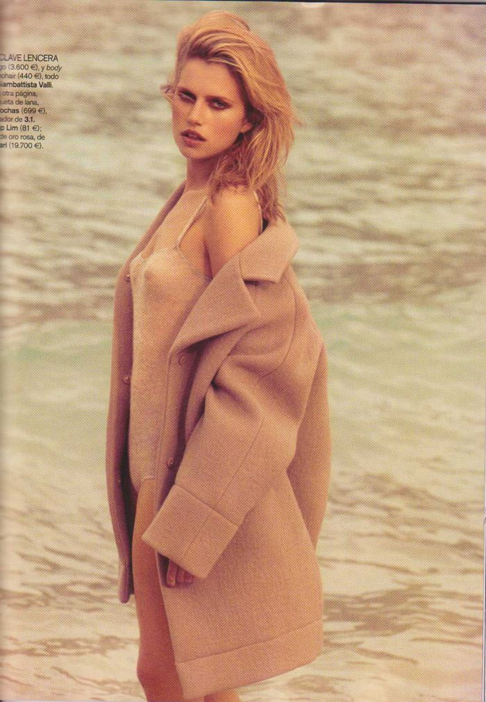 Cato Van Ee photographed by James Macari for Vogue España, August 2010 9