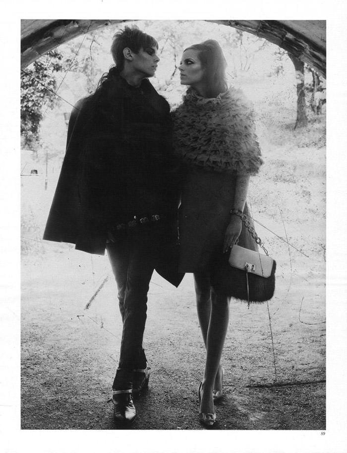 "Freja Beha Erichsen photographed by Craig McDean in ""Modern Love"" for Interview Magazine, August 2010 14"