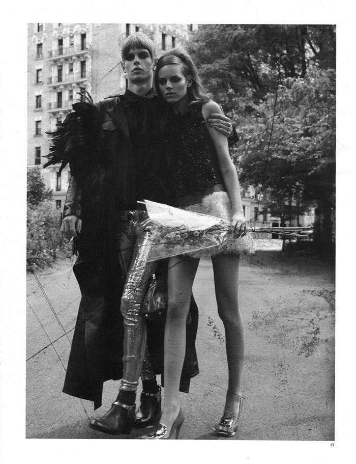 "Freja Beha Erichsen photographed by Craig McDean in ""Modern Love"" for Interview Magazine, August 2010 7"