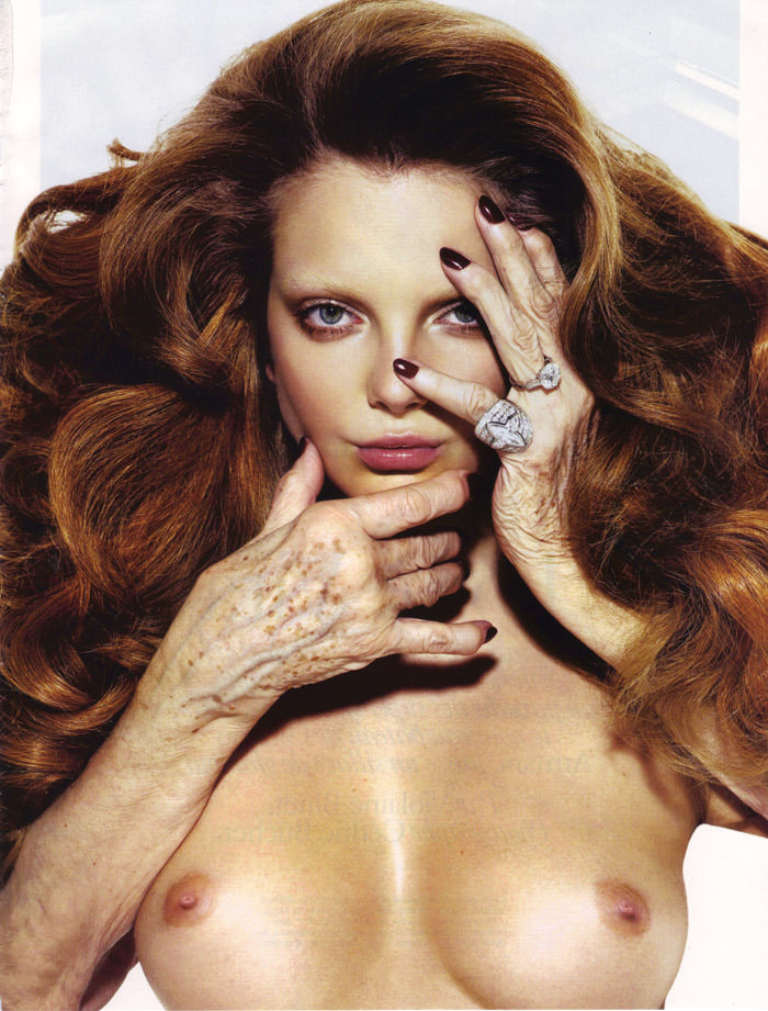 Enikő Mihalik photographed by Mario Sorrenti for Vogue Paris, August 2010 1