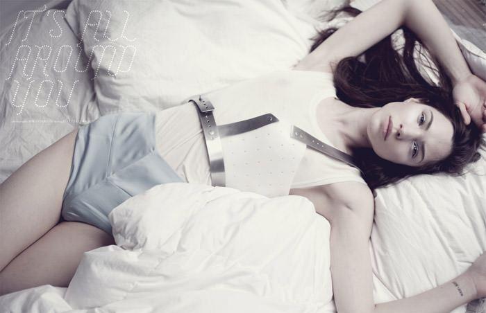 "Jovita Mieliauskienė photographed by Rokas Darulis in ""It's All Around You"" for The Ones 2 Watch 1"