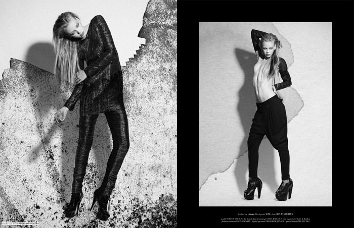 "Dorith Mous photographed by Catherine Conroy in ""The Chameleon"" for The Ones 2 Watch 5"