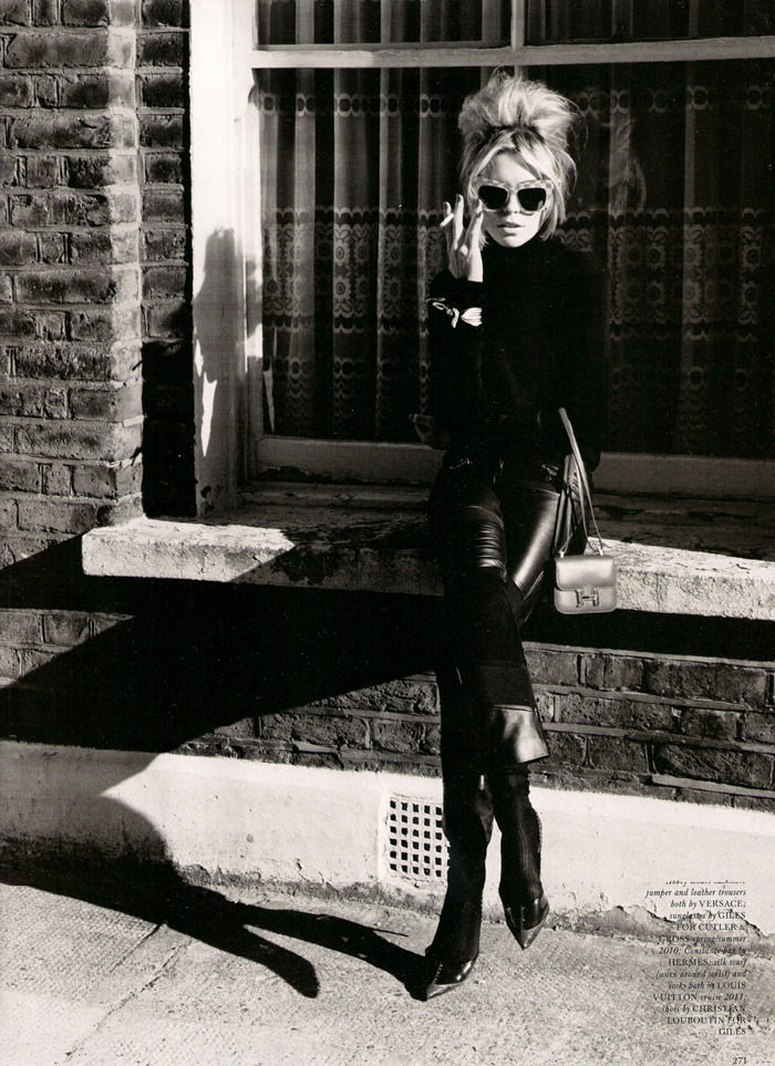 """Abbey Clancy photographed by Alasdair McLellan in """"A Bit Of Liverpool"""" for Love Magazine #4 7"""