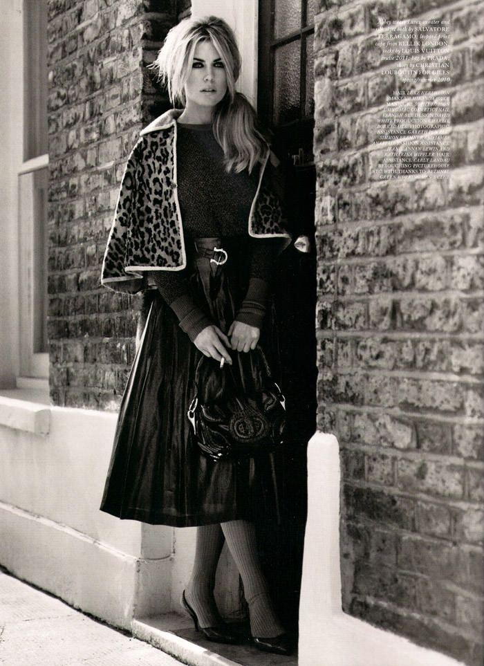 """Abbey Clancy photographed by Alasdair McLellan in """"A Bit Of Liverpool"""" for Love Magazine #4 10"""