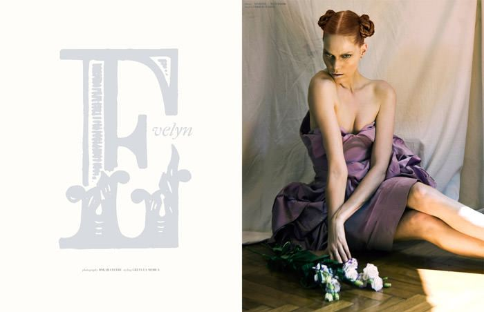 """Caroline Rausch & Kristina Skalova photographed by Oskar Cecere in """"Evelyn"""" for The Ones 2 Watch 1"""