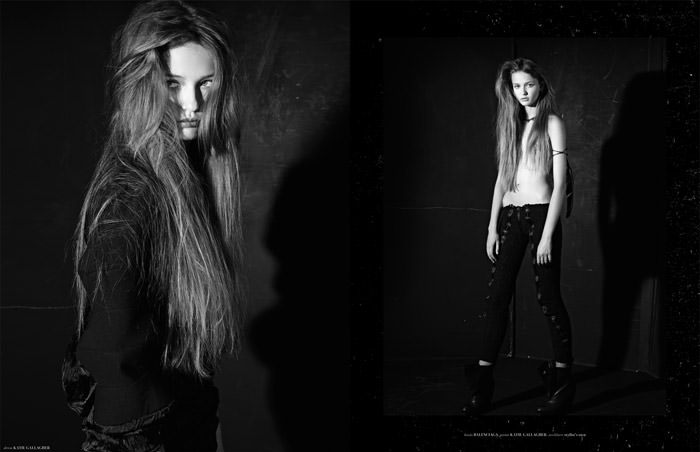 """Kristina Romanova photographed by Eric Guillemain in """"The Longest Night"""" for The Ones 2 Watch 2"""