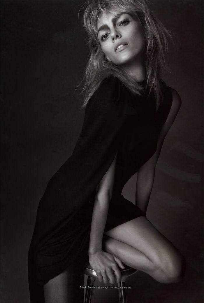 Anja Rubik photographed by Glen Luchford for Purple #14, Fall & Winter 2010 5