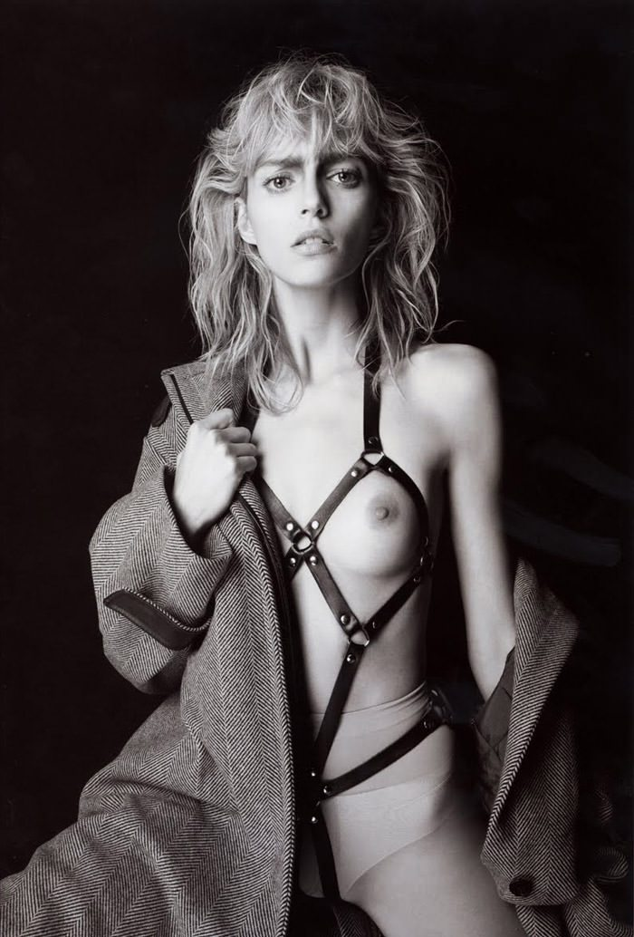 Anja Rubik photographed by Glen Luchford for Purple #14, Fall & Winter 2010 / 2011 2