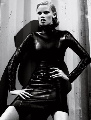 Lara Stone photographed by Mert & Marcus for Interview Magazine, September 2010 2
