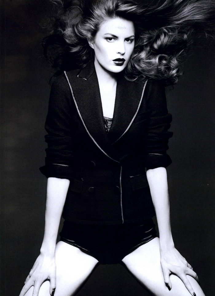 """Cameron Russell photographed by Ben Hassett in """"Equinoxe"""" for Numéro #117, October 2010 10"""