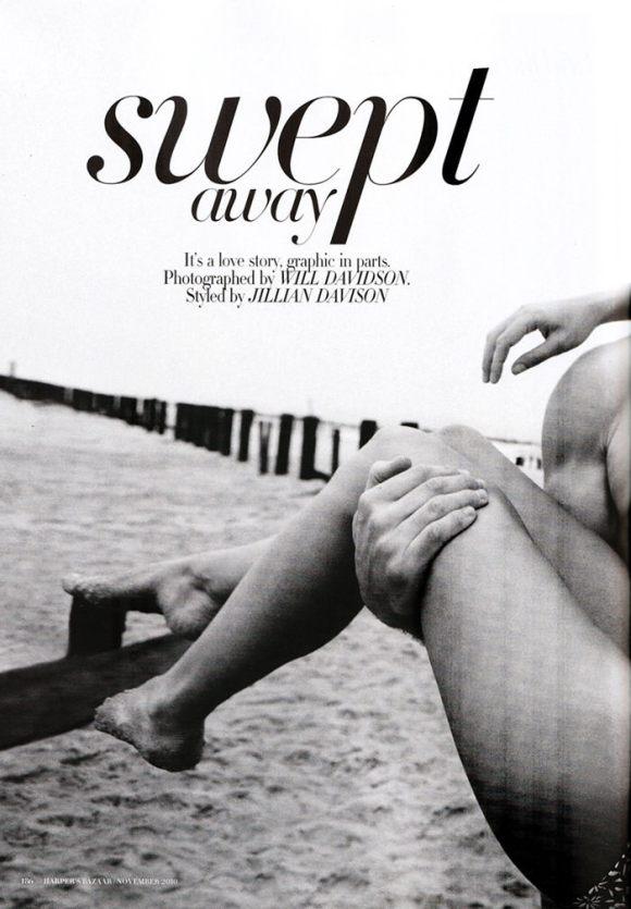 "Diana Dondoe (& Tyson Ballou) photographed by Will Davidson in ""Swept Away"" for Harper's Bazaar Australia, November 2010 1"