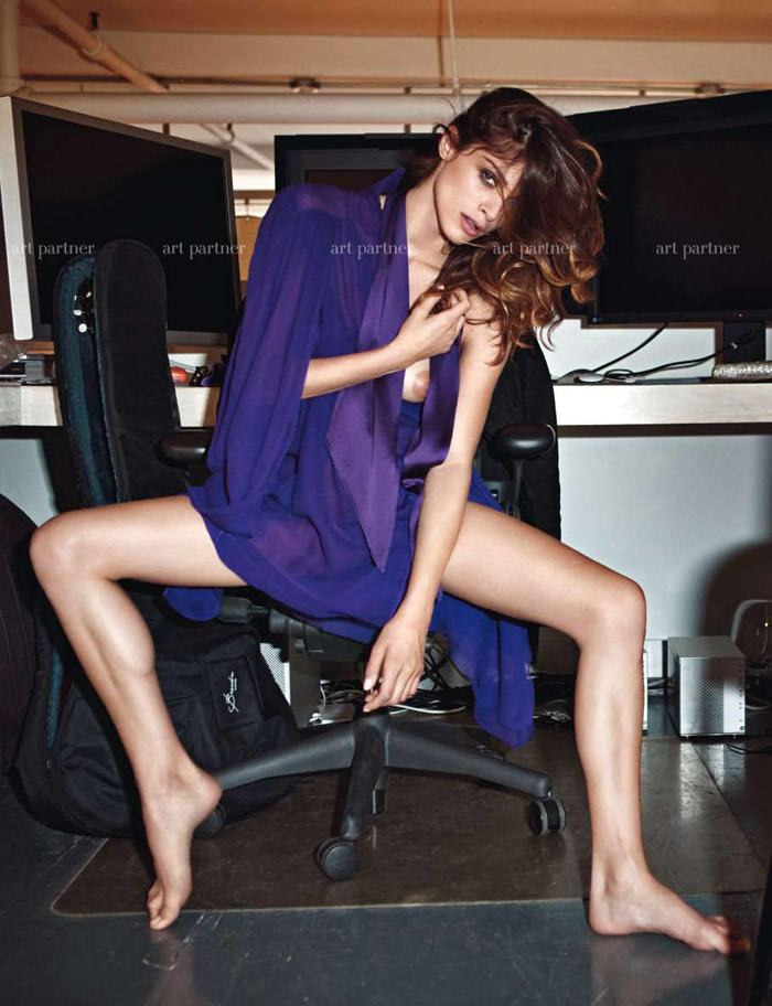Elisa Sednaoui photographed by Mario Sorrenti for Purple #14 11