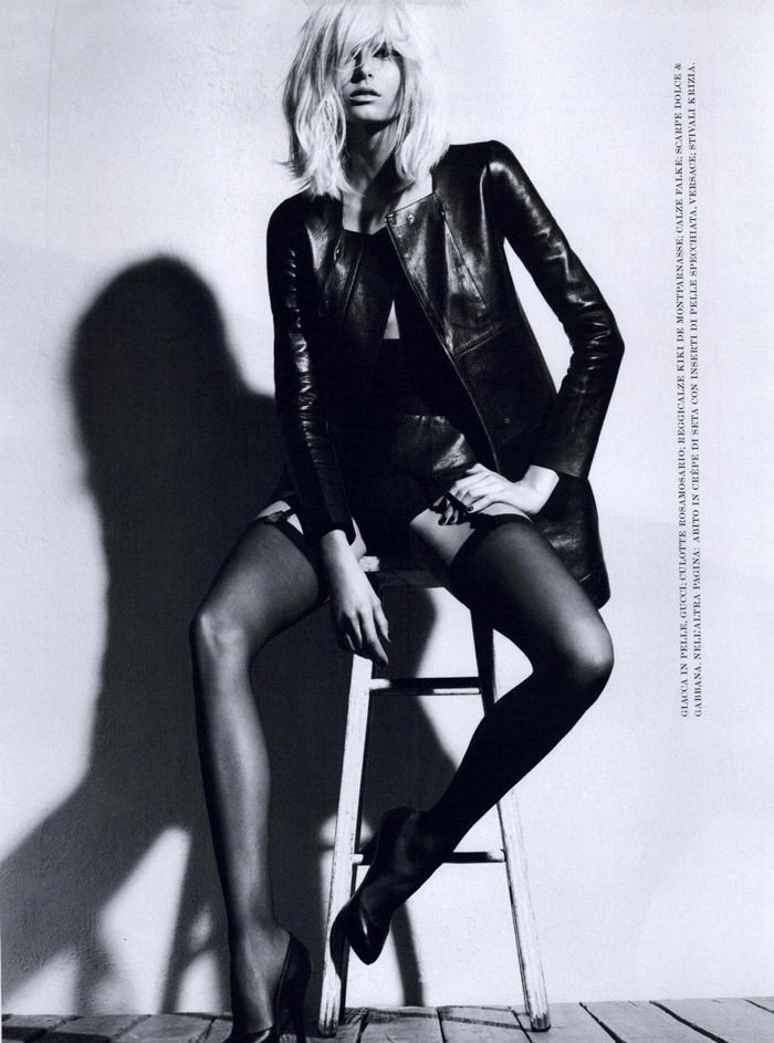 Hana Soukupova photographed by Robbie Fimmano for Flair, October 2010