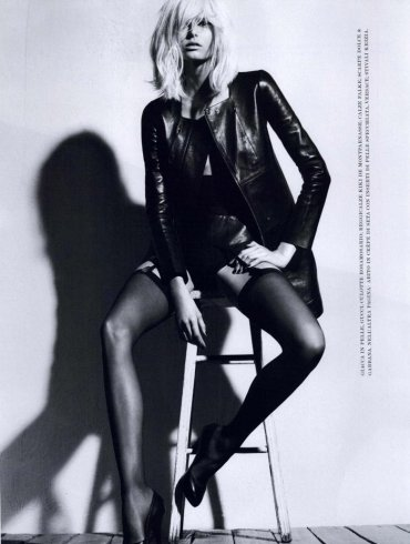 Hana Soukupova photographed by Robbie Fimmano for Flair, October 2010 1