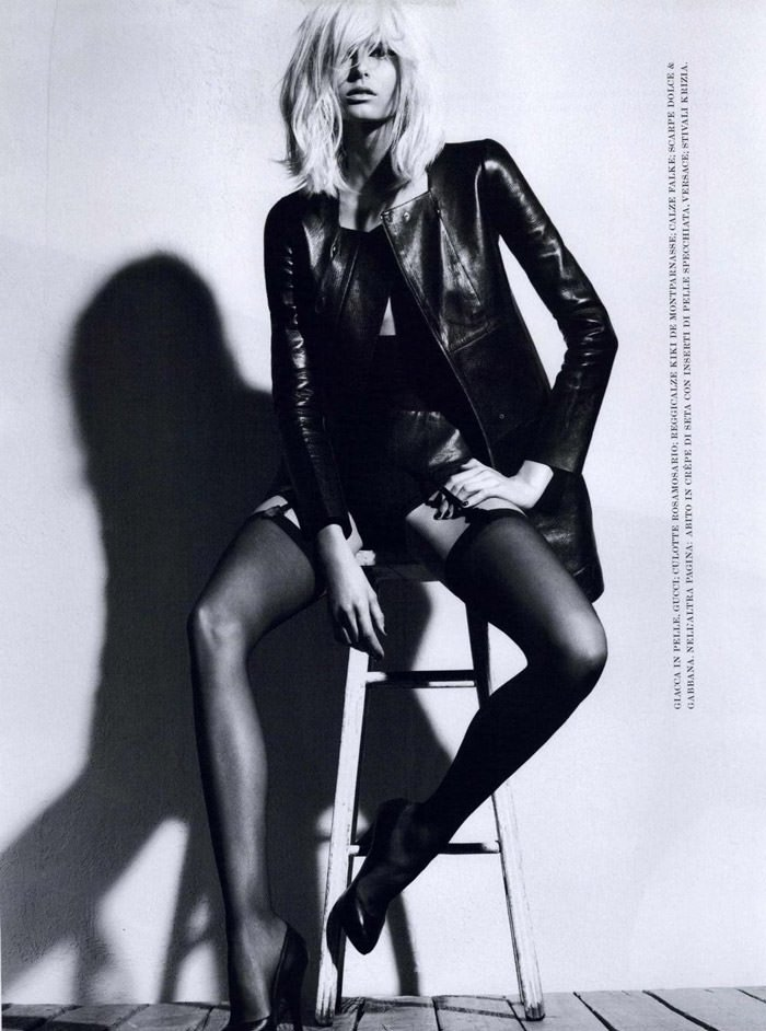 Hana Soukupova photographed by Robbie Fimmano for Flair, October 2010 4