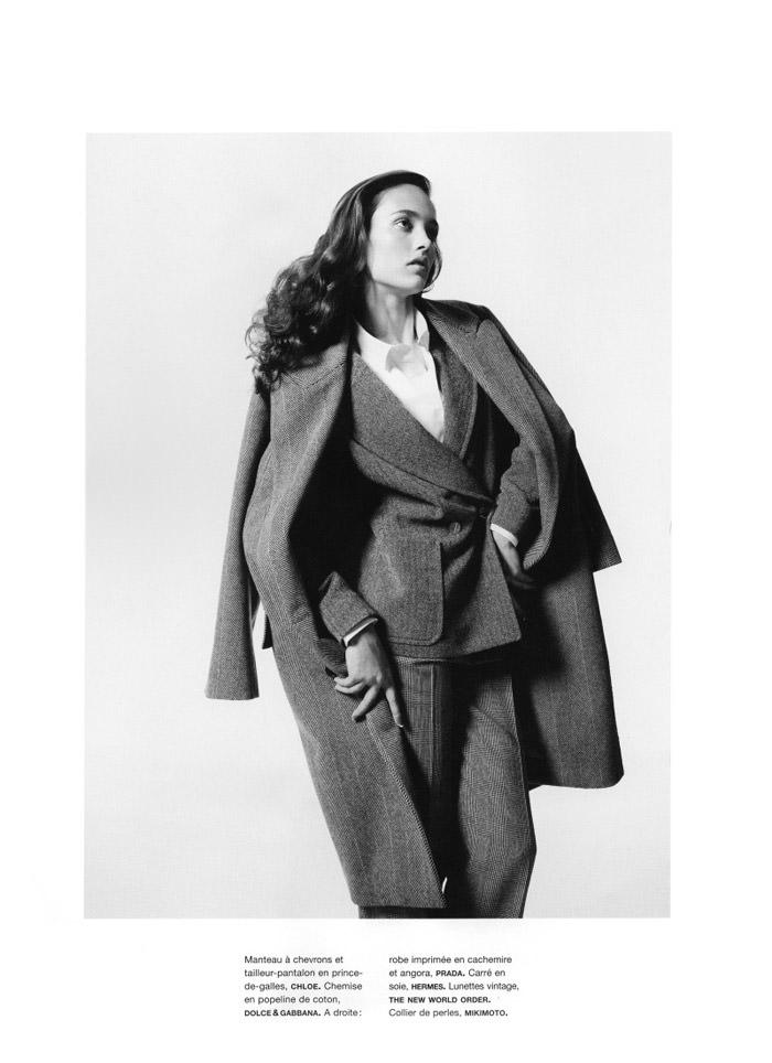 "Karmen Pedaru photographed by Richard Bush in ""Etat D'Âme"" for Numéro #117, October 2010 8"