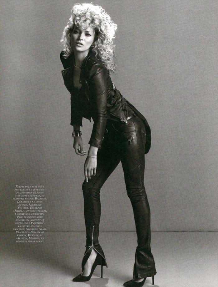 """Kate Moss photographed by Inez & Vinoodh in """"Dans La Peau"""" for Vogue Paris, September 2010 5"""