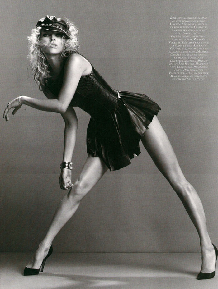 """Kate Moss photographed by Inez & Vinoodh in """"Dans La Peau"""" for Vogue Paris, September 2010 10"""