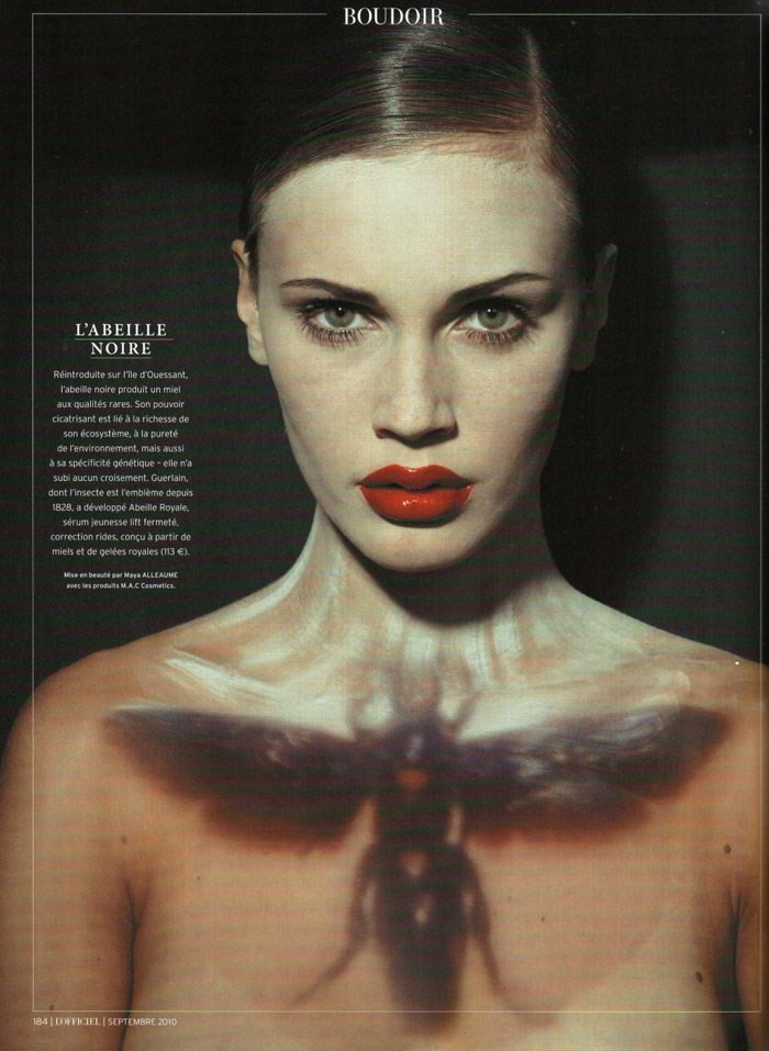 Marine Vacth photographed by Ralph Mecke for L'Officiel Paris, September 2010 4