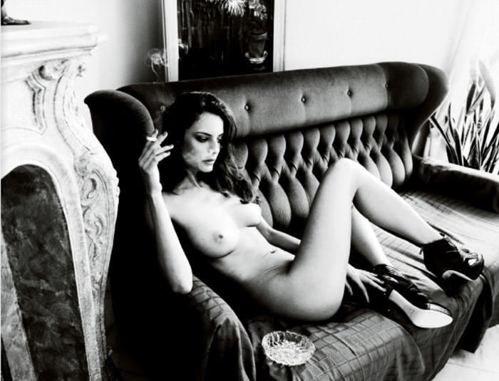 """Réka Ebergényi photographed by István Lábady in """"Flesh Of The Orchid"""" for The Room Magazine, Fall & Winter 2010 / 2011 4"""