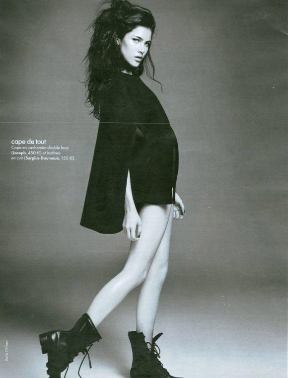 Anna Christine Speckhart photographed by David Oldham for Elle France, October 2010 2